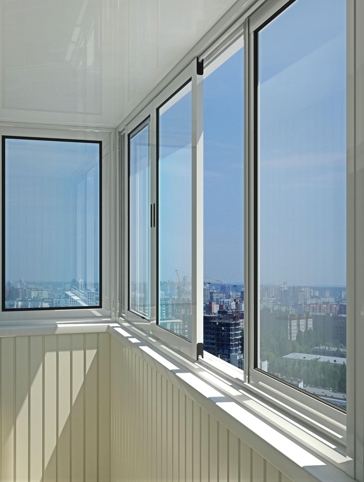Остекление балконов - expertokna.